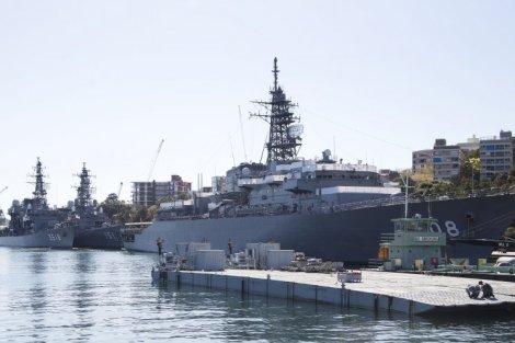 Japanese Navy - Sydney Port Visit